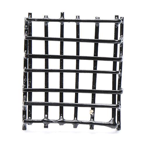 Garde-fenêtre métal crèche h réelle 3 cm 1