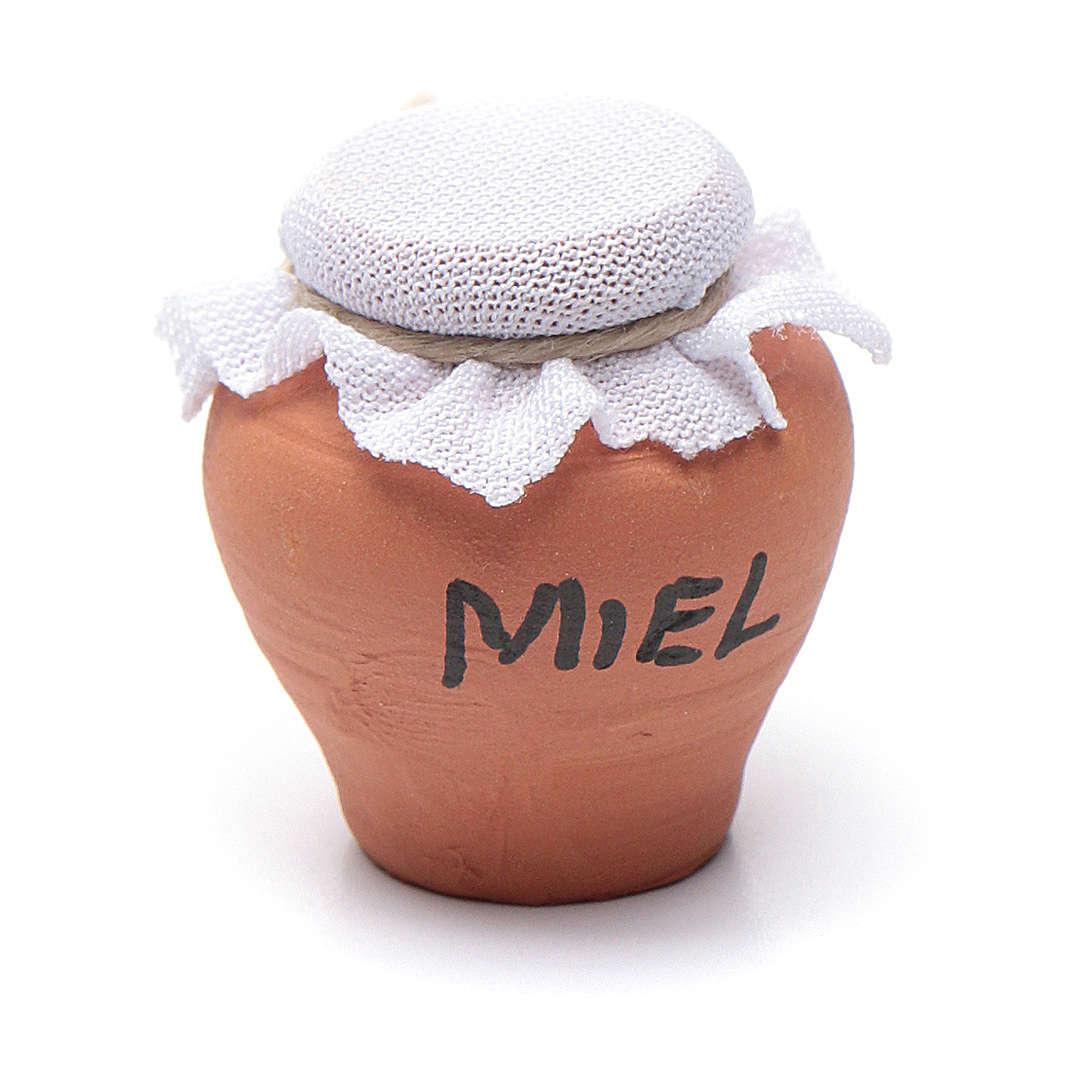 Vase terre cuite h réelle 3 cm crèche diff. modèles 4
