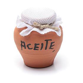 Vase terre cuite h réelle 3 cm crèche diff. modèles s2