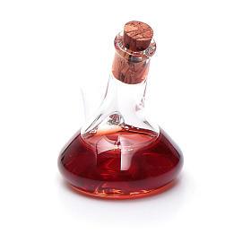 Ampolla cristallo con aceto h reale 3 cm s2