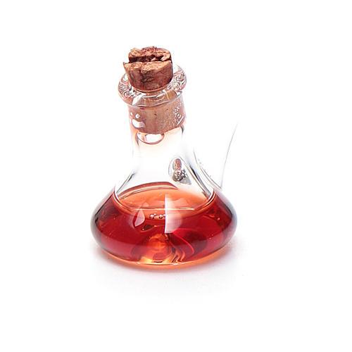 Ampoule cristal vinaigre h réelle 2,5 cm crèche 1