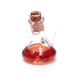Ampolla cristallo aceto h reale 2,5 cm presepe s1