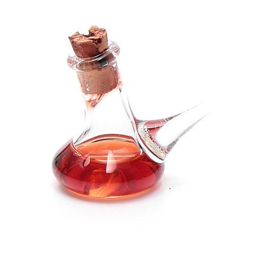 Ampolla cristallo aceto h reale 2,5 cm presepe 2