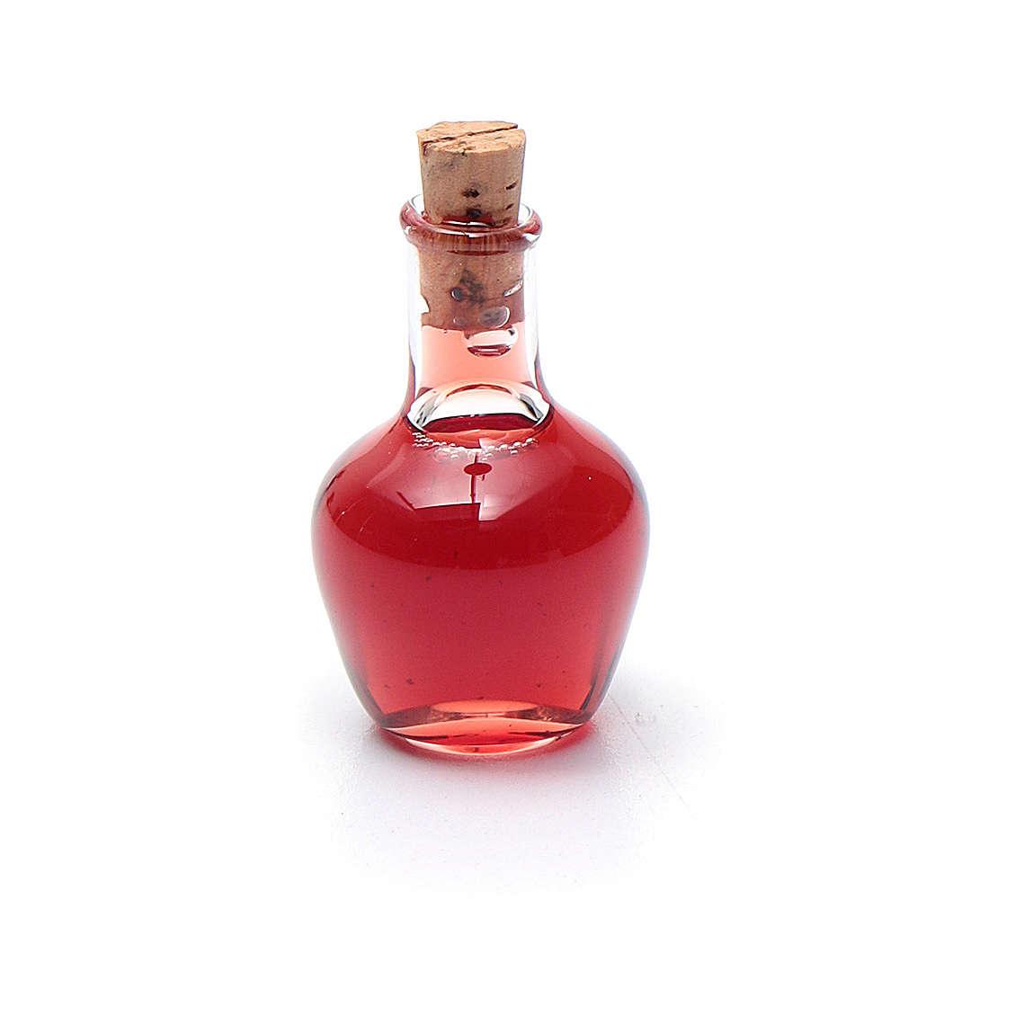 Bottiglia cristallo presepe h reale 2,5 cm 4