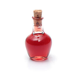Bottiglia cristallo presepe h reale 2,5 cm s1