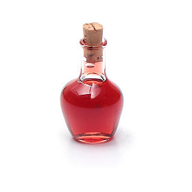 Bottiglia cristallo presepe h reale 2,5 cm s2