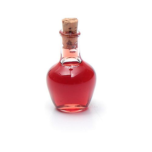 Bottiglia cristallo presepe h reale 2,5 cm 1