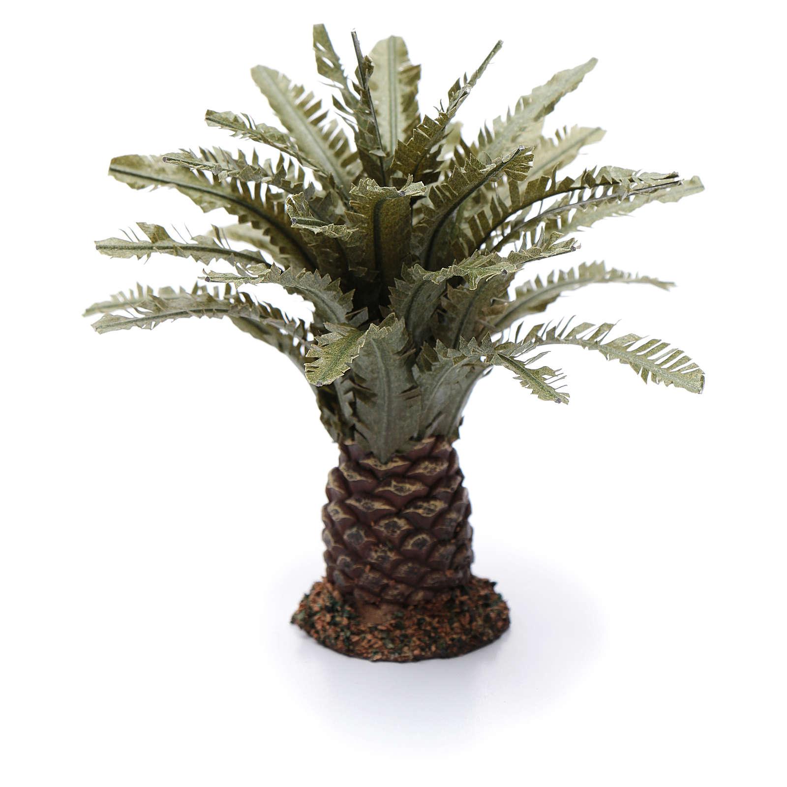Palmeira anã presépio altura real 12 cm 4