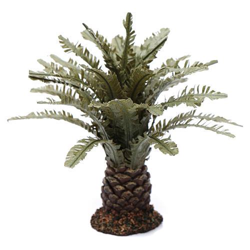 Palmeira anã presépio altura real 12 cm 1