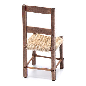 DIY nativity scene chair 10 cm for Neapolitan nativity scene s3