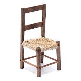 DIY nativity scene chair 10 cm for Neapolitan nativity scene s1