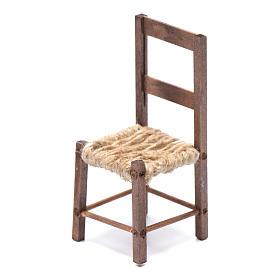 DIY nativity scene chair 10 cm for Neapolitan nativity scene s2