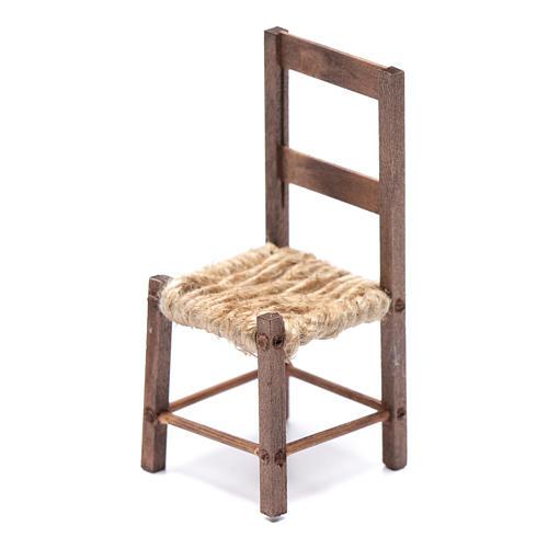 DIY nativity scene chair 10 cm for Neapolitan nativity scene 2