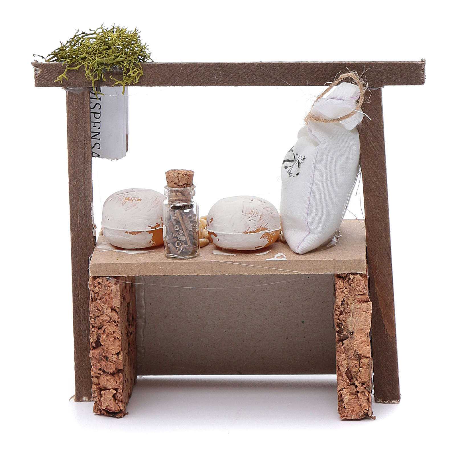 Table with flour and cereals 4
