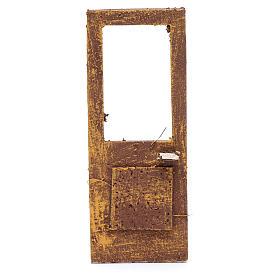 Porte pour crèche 13x5 cm en bois s1