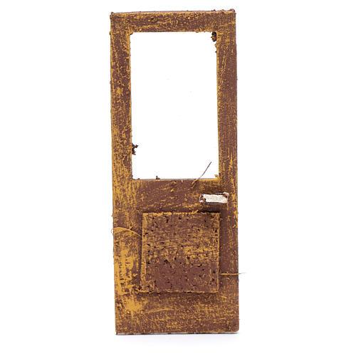 Porte pour crèche 13x5 cm en bois 1