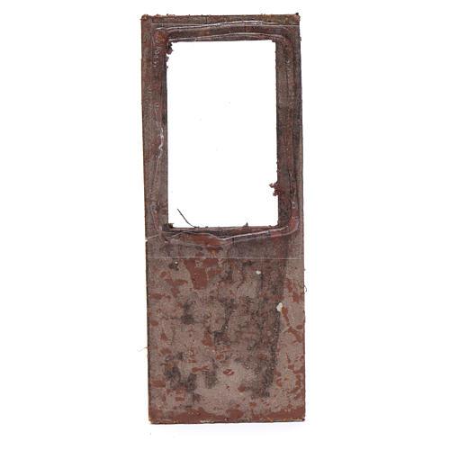 Porte pour crèche 13x5 cm en bois 2
