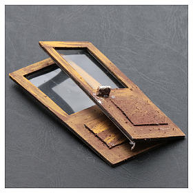 Portafinestra set 2 pz 15x5 cm per presepe s3