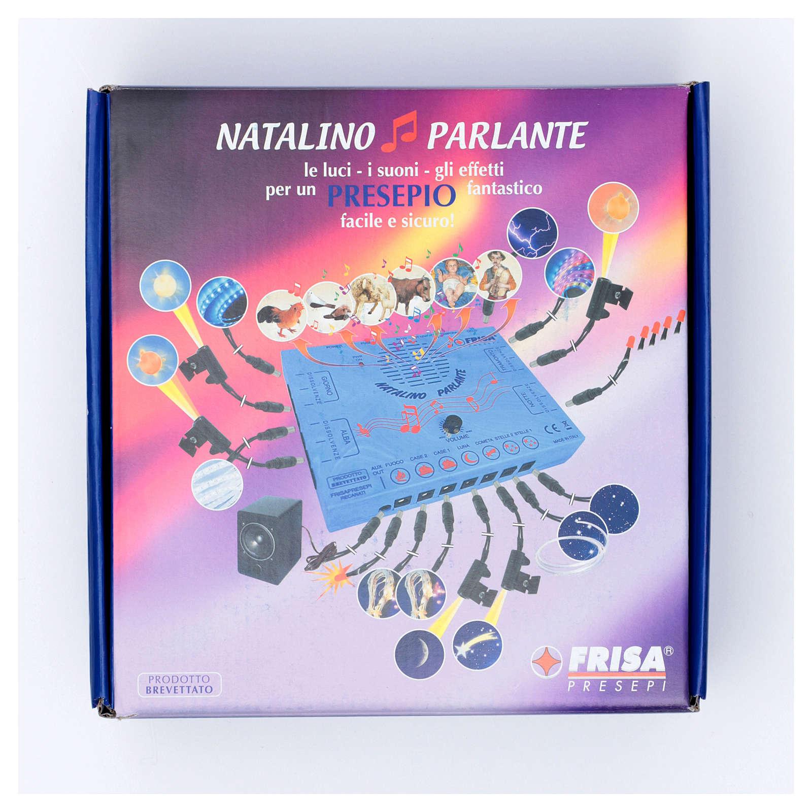 Natalino parlante led Frisalight gestione effetti-luci-suoni 4