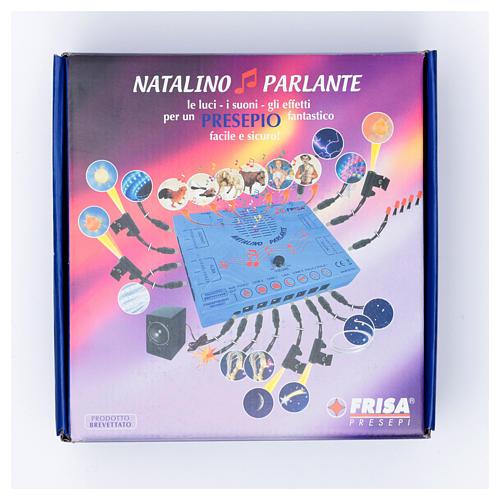 Natalino parlante led Frisalight gestione effetti-luci-suoni 7