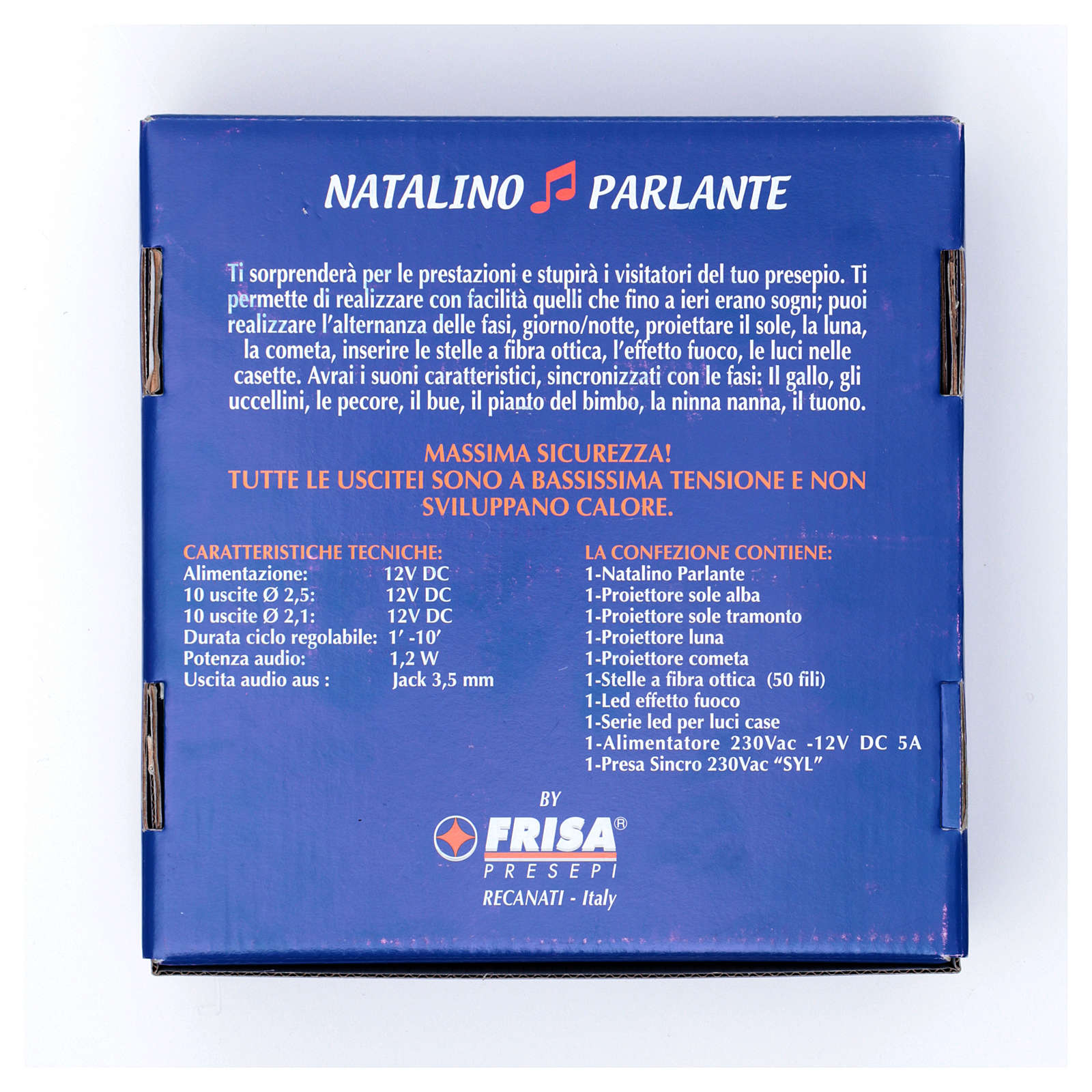 Natalino parlante led Frisalight light and sound effect 4
