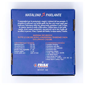 Natalino parlante led Frisalight light and sound effect s8
