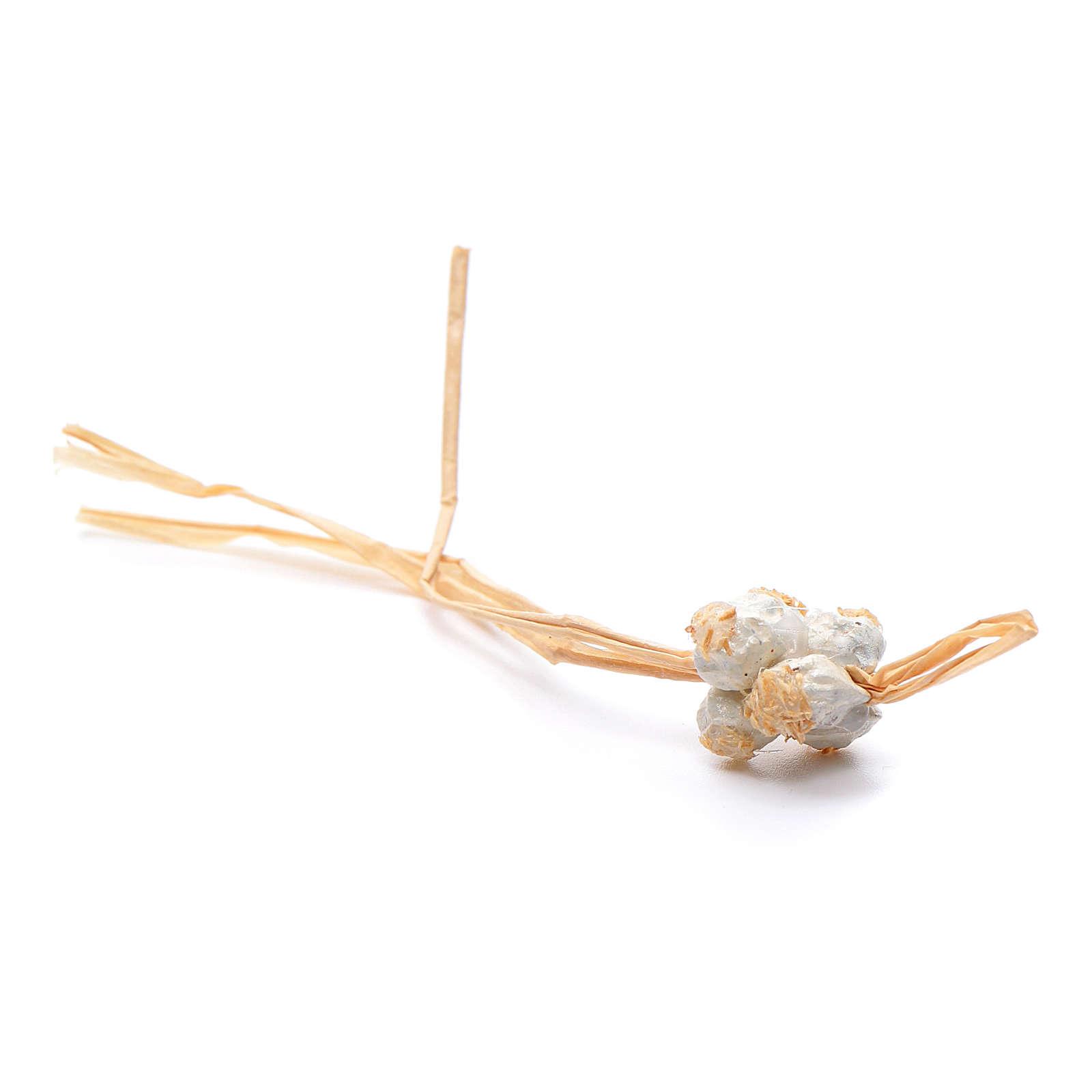 Grappolo di cipolla 12X1,5 cm per presepe napoletano 4
