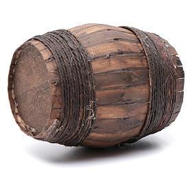 Botte in legno 10X6,5 cm per presepe napoletano s2