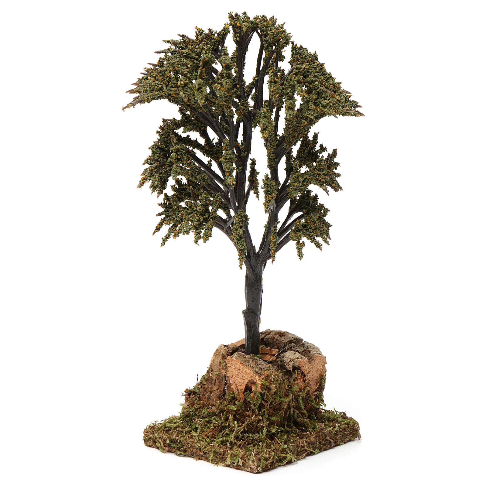 Green branched tree for Nativity Scene 7-10 cm 4
