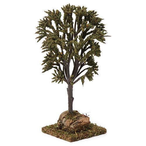 Green tree with branches for Nativity Scene 7-10 cm 3