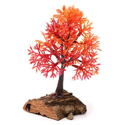 Autumn tree with cork base for Nativity Scene 7-10 cm 2