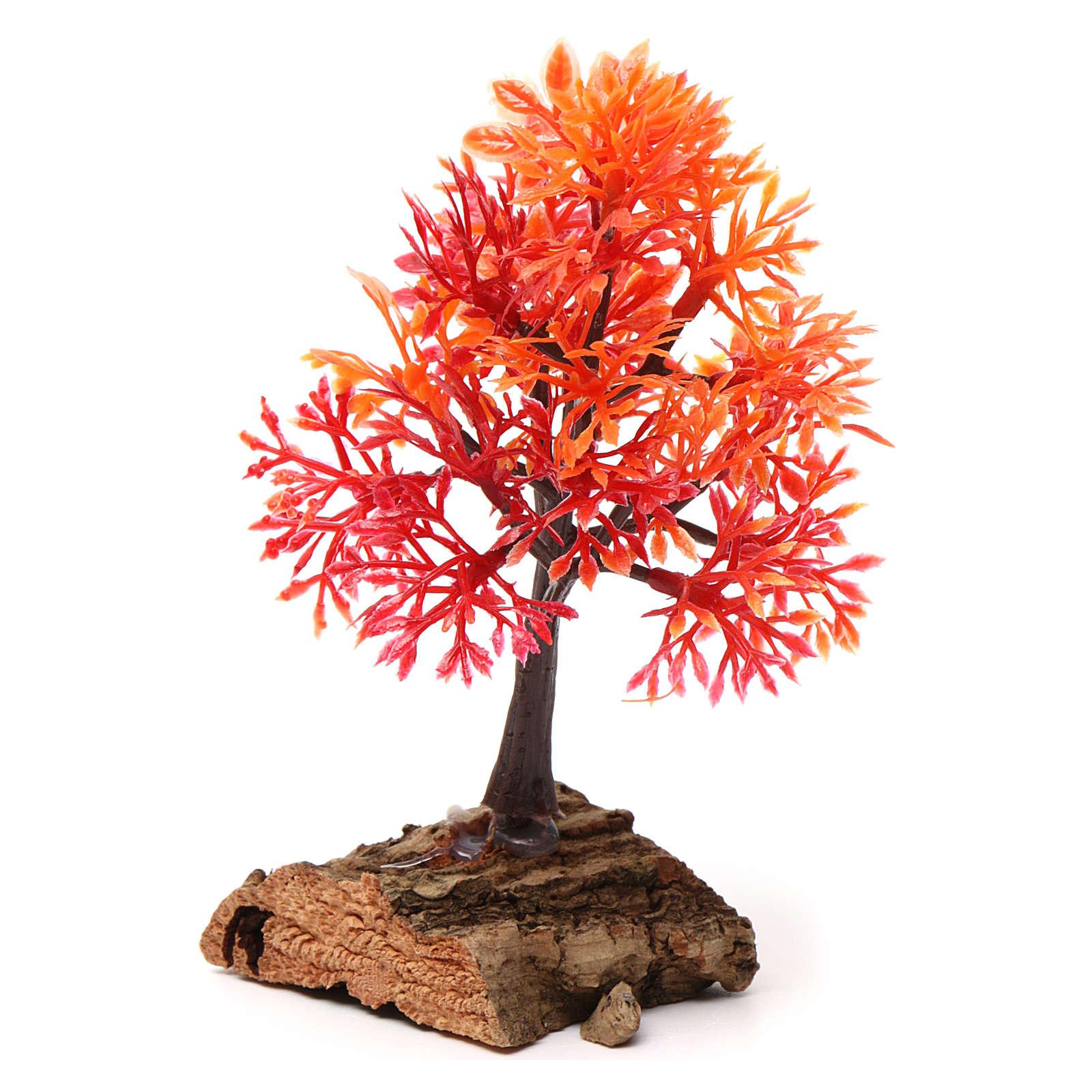 Arbre d'automne base liège pour crèche 7-10 cm 4