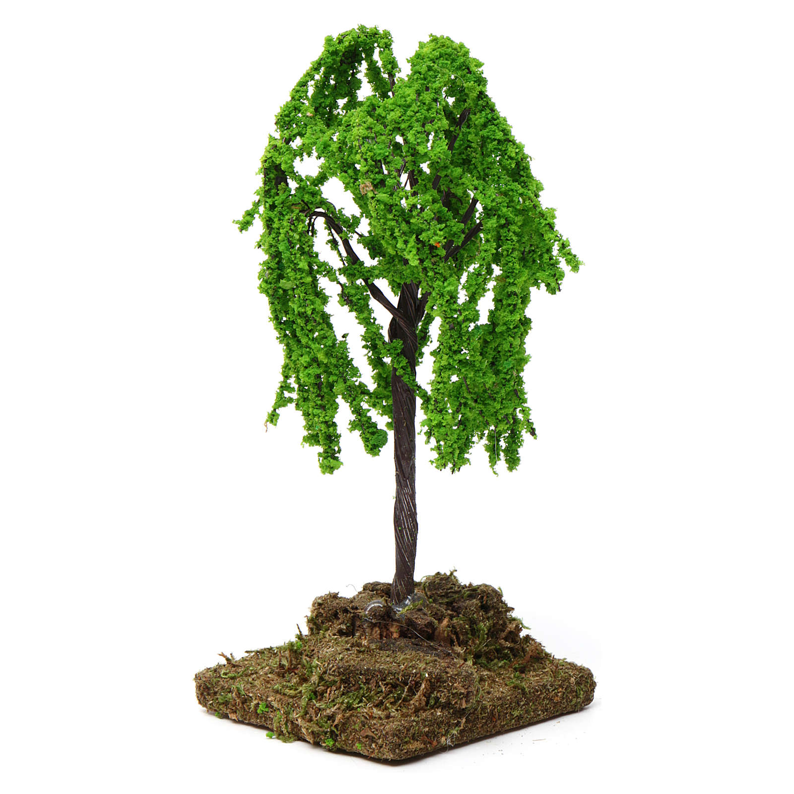 Weeping willow with cork base for Nativity Scene 7-10 cm 4