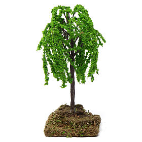 Weeping willow with cork base for Nativity Scene 7-10 cm s1