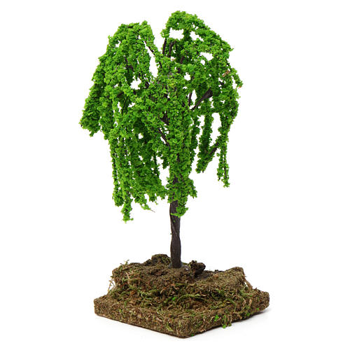 Weeping willow with cork base for Nativity Scene 7-10 cm 3