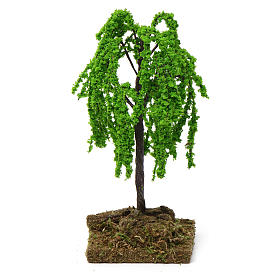 Willow tree for Nativity Scene 7-10 cm with cork base s4