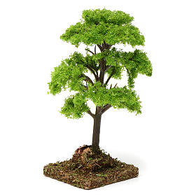 Baum grün für 7-10 cm für DIY-Krippe s2