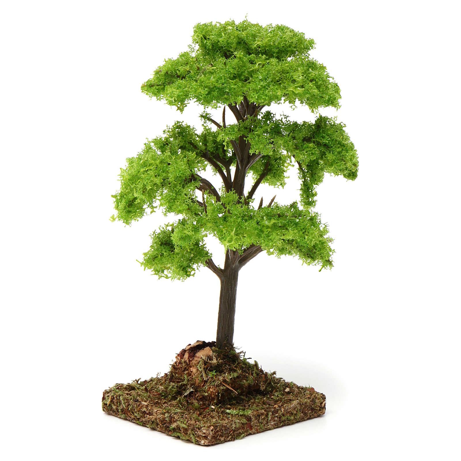 Árvore verde para presépio 7-10 cm 4