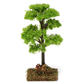 Green tree for Nativity Scene 7-10 cm s1