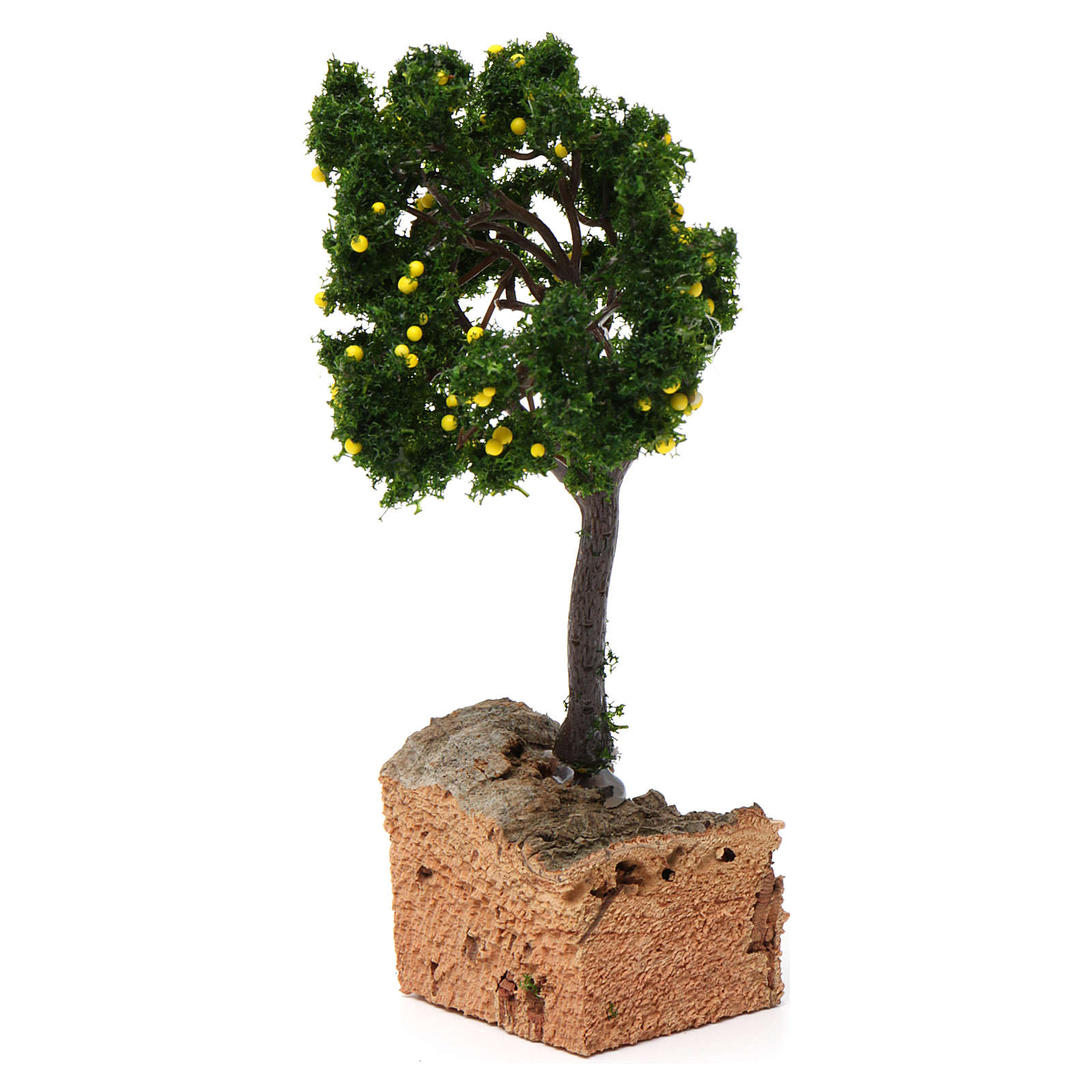 Lemon tree with cork base for Nativity Scene 7-10 cm 4