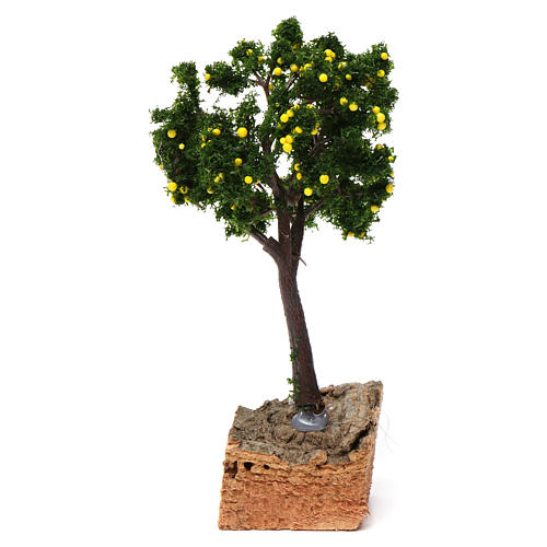 Lemon tree with cork base for Nativity Scene 7-10 cm 1