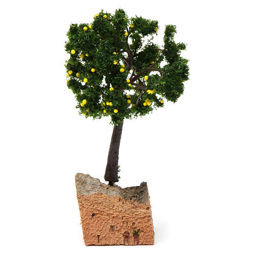 Lemon tree with cork base for Nativity Scene 7-10 cm 2