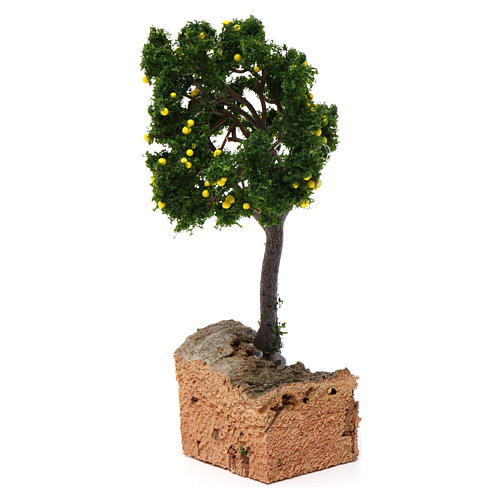 Lemon tree with cork base for Nativity Scene 7-10 cm 3