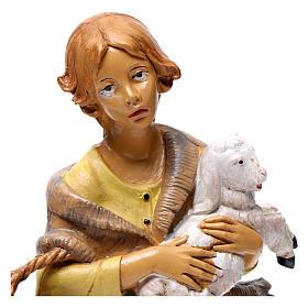 Donna con pecora 30 cm s2