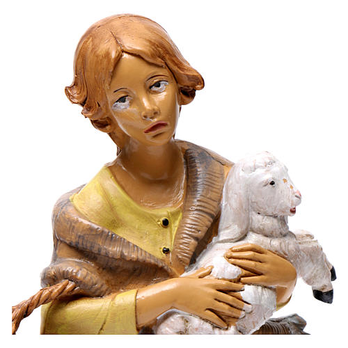 Donna con pecora 30 cm 2
