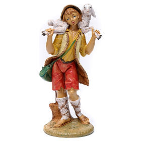 Nativity Scene figurines: Shepherd with bag 30 cm