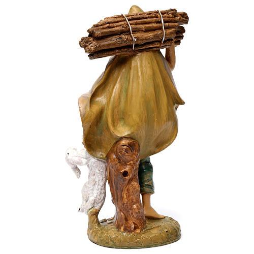 Pastore con legna 30 cm 4