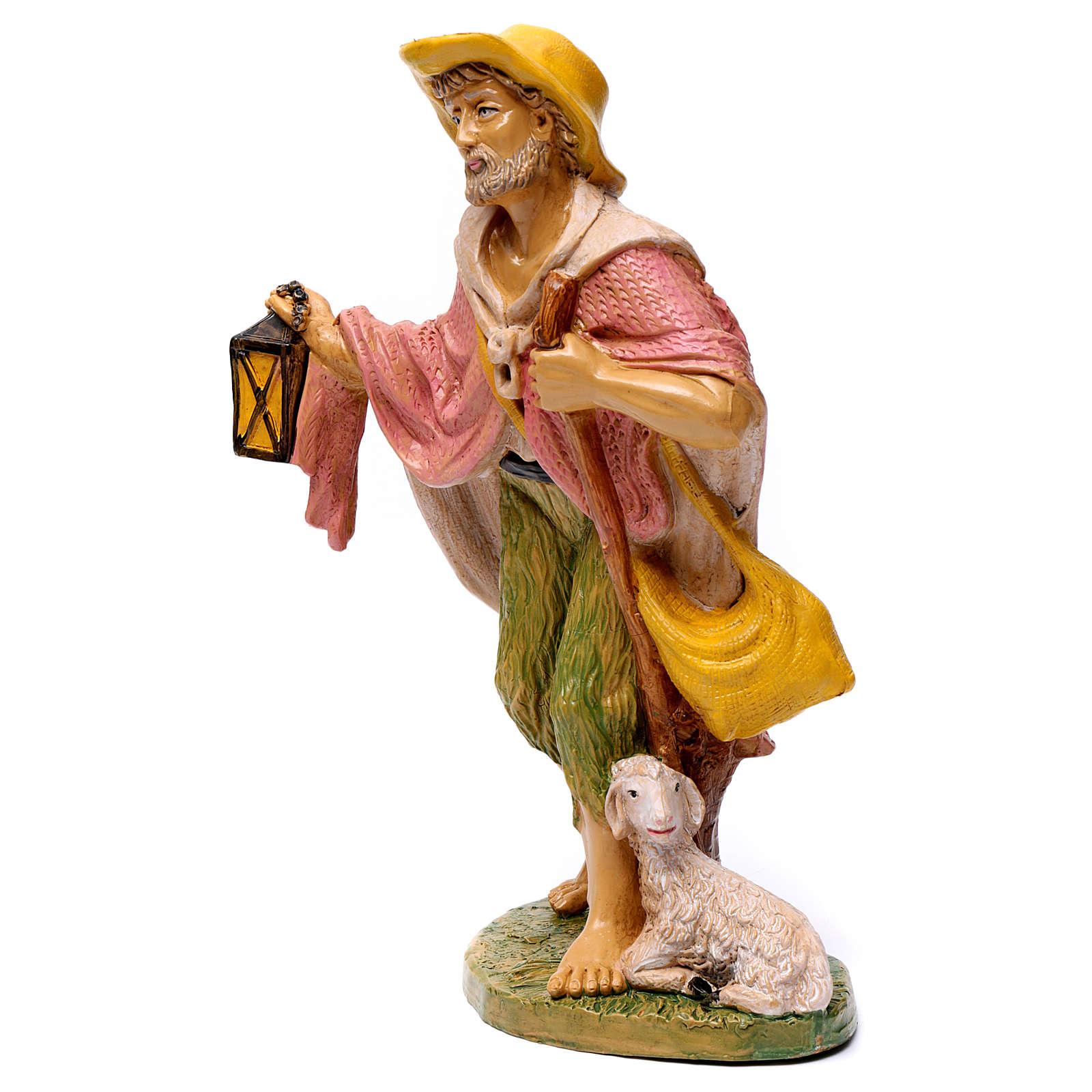 Pastor con linterna 30 cm de altura media 3