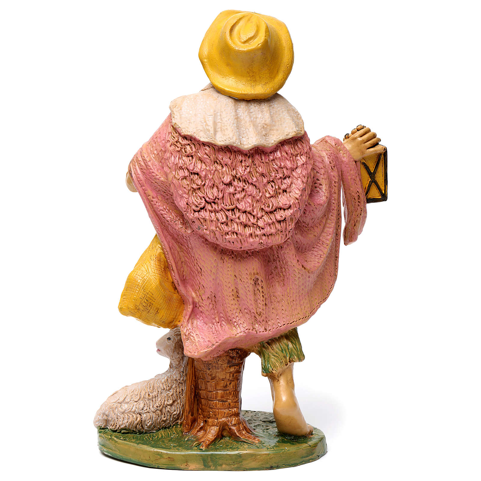 Shepherd with lantern for 30 cm Nativity Scene 3