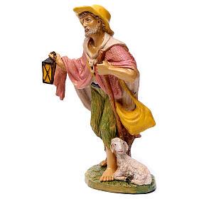 Shepherd with lantern for 30 cm Nativity Scene s3